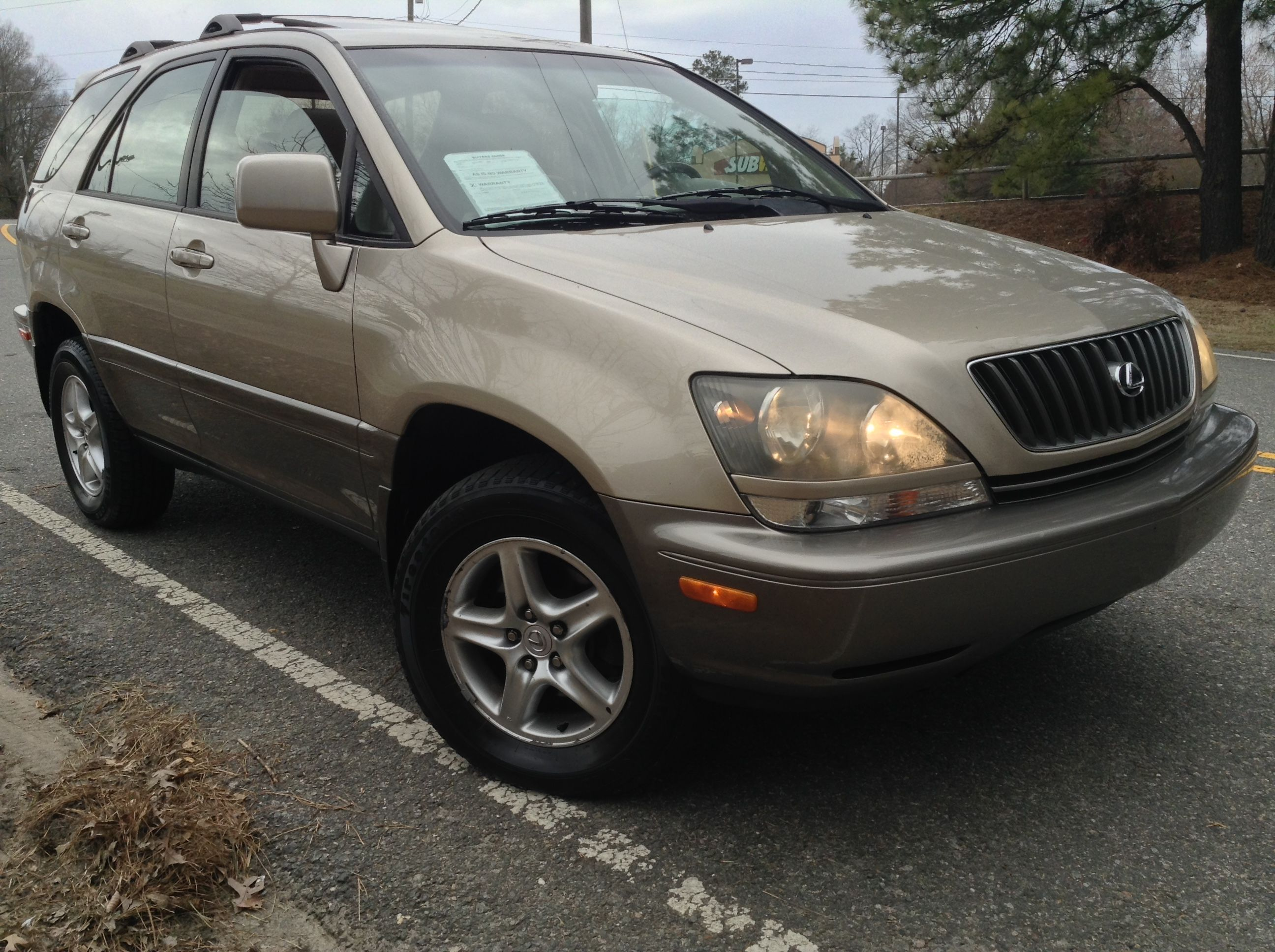 Used 2000 Lexus RX 300 For Sale Durham NC