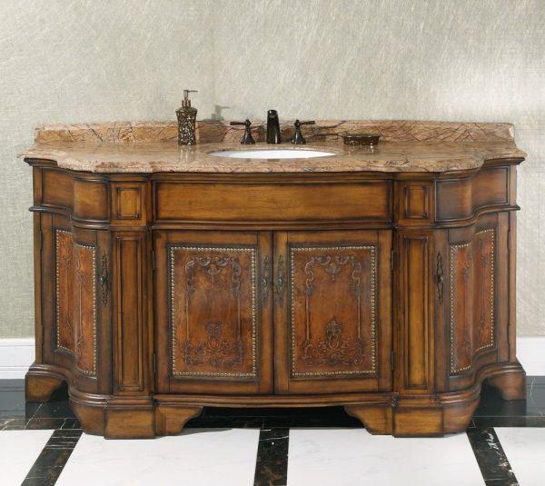 Legion 72 Vintage Single Sink Bathroom Vanity Wb