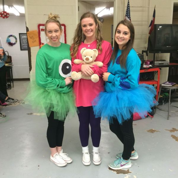 Boo Sully And Mike Wazowski Cartoon Spirit Day
