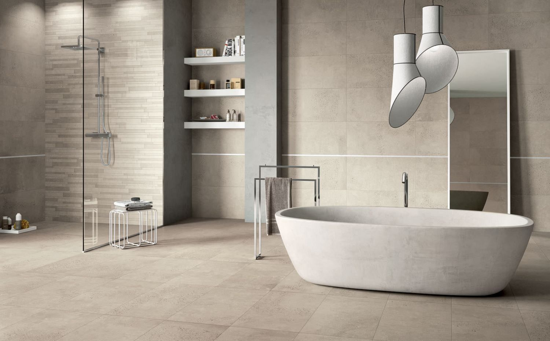 Concrete look Italian Porcelain Wall  Floor Tile DF5 DT