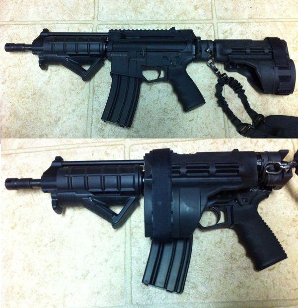 Hk416 Ar Pistol Cagconcepts Buffer Tube Adapter Sigtac
