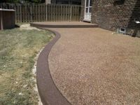 exposed aggregate patio Exposed Aggregate surface with ...
