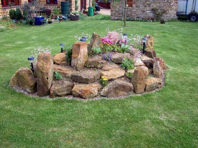 Garden Rockery Ideas The Rockery That Was Created Last Summer Out