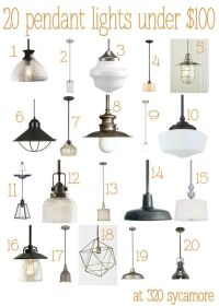 Kitchen Pendant Lighting on Pinterest | Country Kitchen ...
