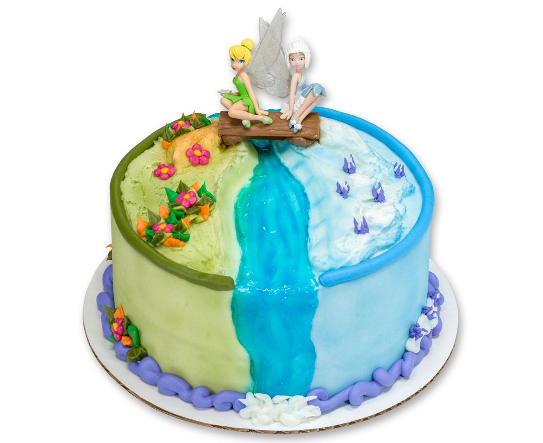Disney Fairies Tinker Bellperiwinkle Decoset Cake Topper