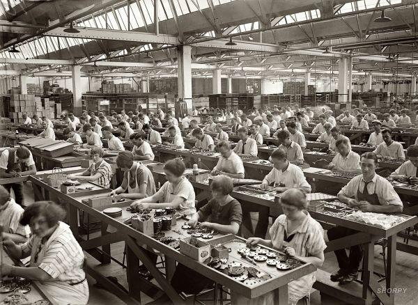 Industrial Revolution Factories Workers