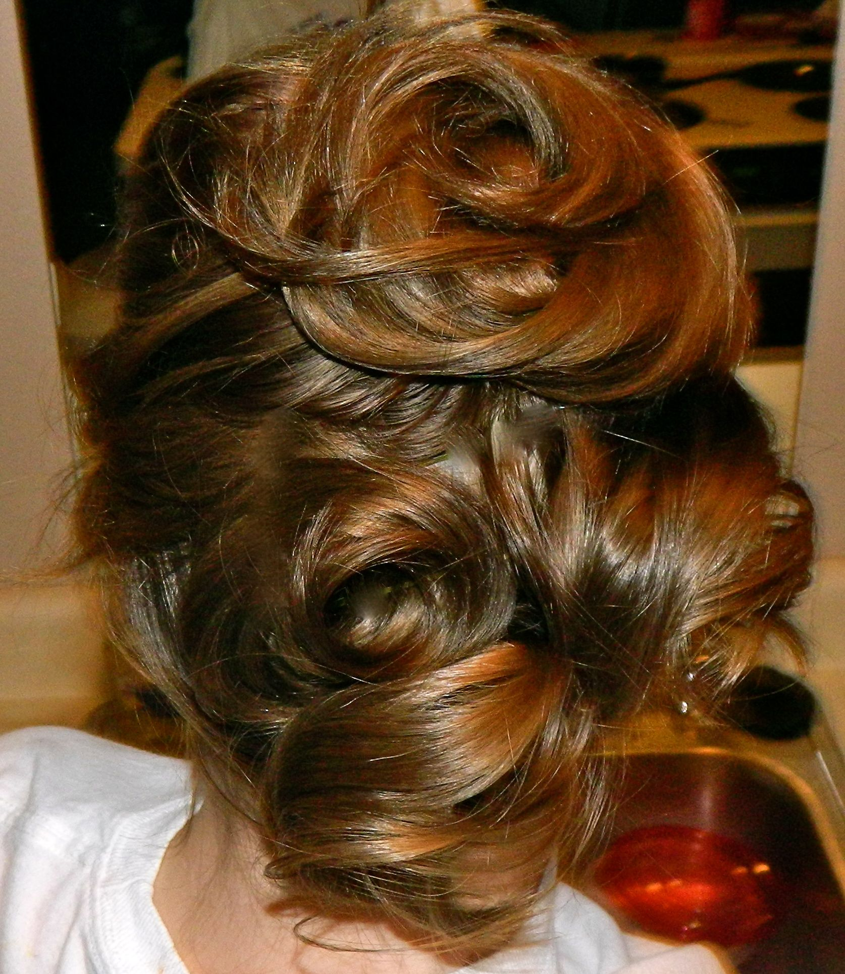 Pinned curls so easy Life of a DIY er Pinterest