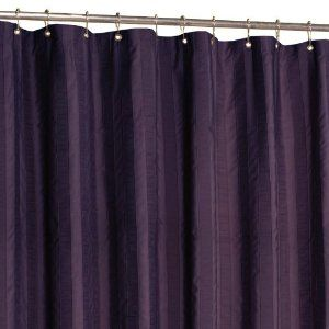 eggplant colored curtains