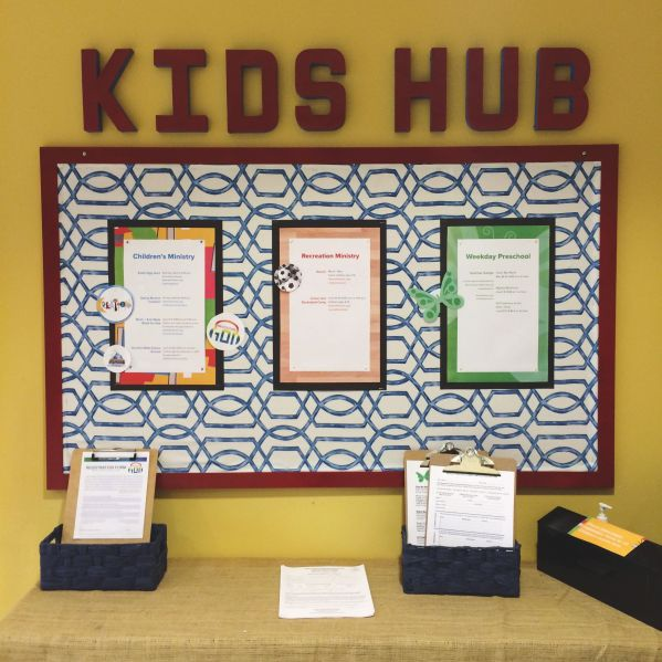 Church Events Bulletin Board Ideas