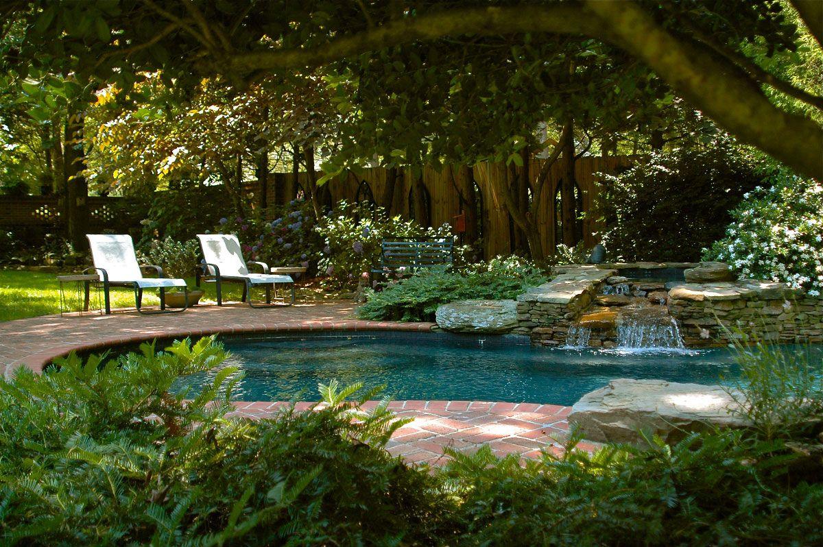 Nature Garden Swimming Pools Design Swimming Pool Design Photo