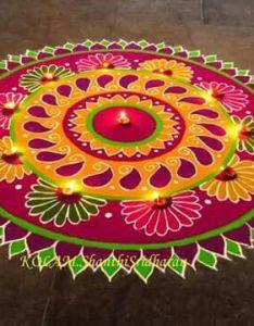 Rangoli designs perfect for the festival also ideas pinterest rh