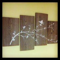barnwood crafts   DIY barn wood wall art.   good ideas ...