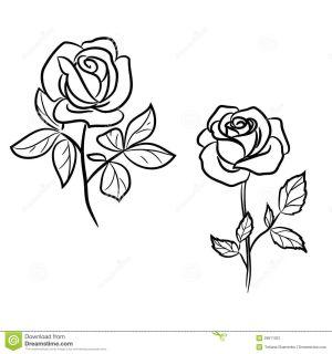 roses tattoo designs tattoos dark outline rose 1390 1300 tatoo tatoos vector illustration learn patterns tatto