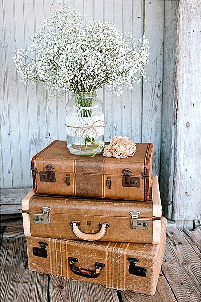 Shabby  Chic Vintage Wedding Decor Ideas  Vintage weddings Shabby and Decoration