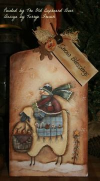 The Old Cupboard Door: painted items | Craft Ideas ...