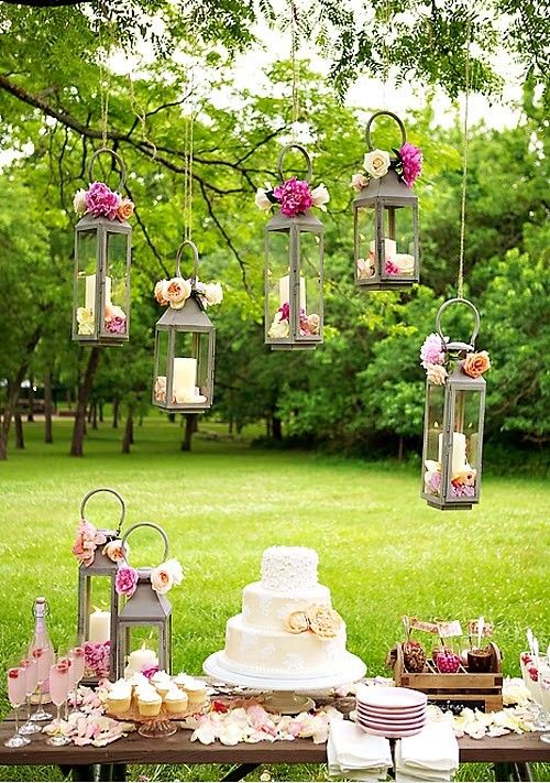 Chic Wedding Dessert Table Ideas Gardens Receptions And Outdoor