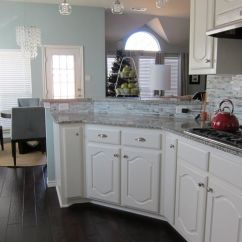 Red Cherry Cabinets Kitchen Storage Ideas Pictures Of Kitchens With And Wood Floors
