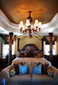 romantic Tuscan design master bedroom | interior design ...