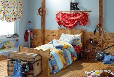 Pirate bedrooms themed furniture nautical theme decorating ideas bedroom decor peter pan jake and the never land pirates also room colton   pinterest kids rooms rh