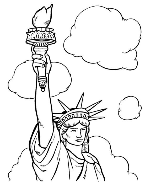 How tall is the Statue of Liberty and why is it green