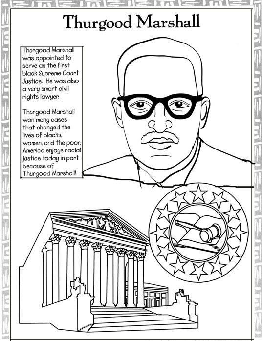 Every Month Is Black History Month: Black History Coloring
