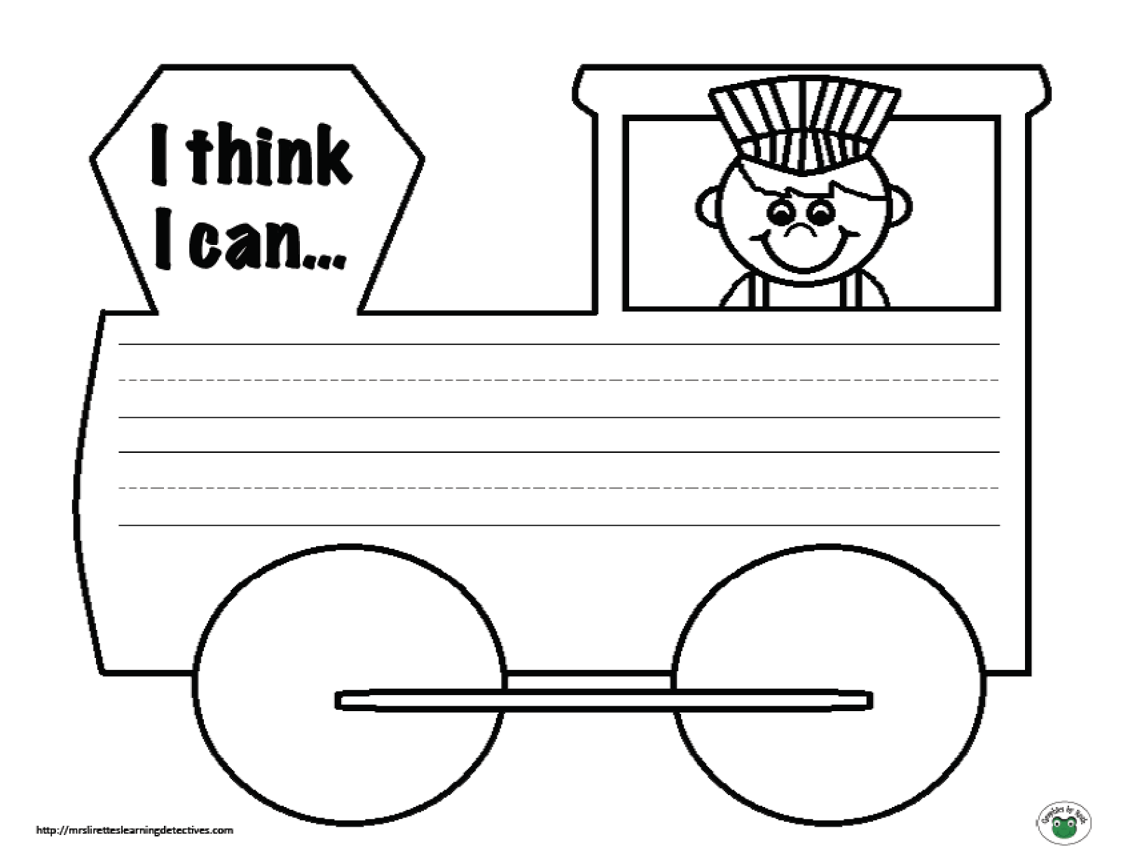 Writing Prompt Freebie The Little Engine That Could