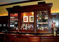 elegant design corner liquor cabinet | Bar Construction ...