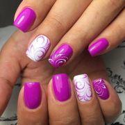 love color nail design