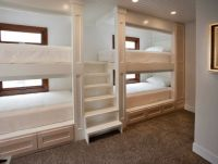 Cool bunk bed with stairs in Contemporary Other Metro with ...