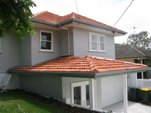 Exterior House Colors Red Roof Grey Painted Brick Google Search