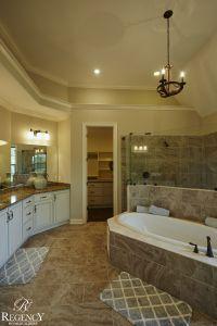 Regency Homebuilders : Master Bath, Drop-In Tub, Walk ...