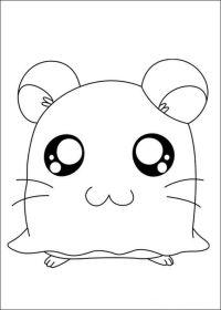Dibujos para Colorear Hamtaro 4