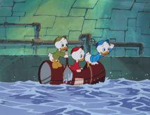 Huey Dewey Louie Disney Ducktales Production Animation Cel