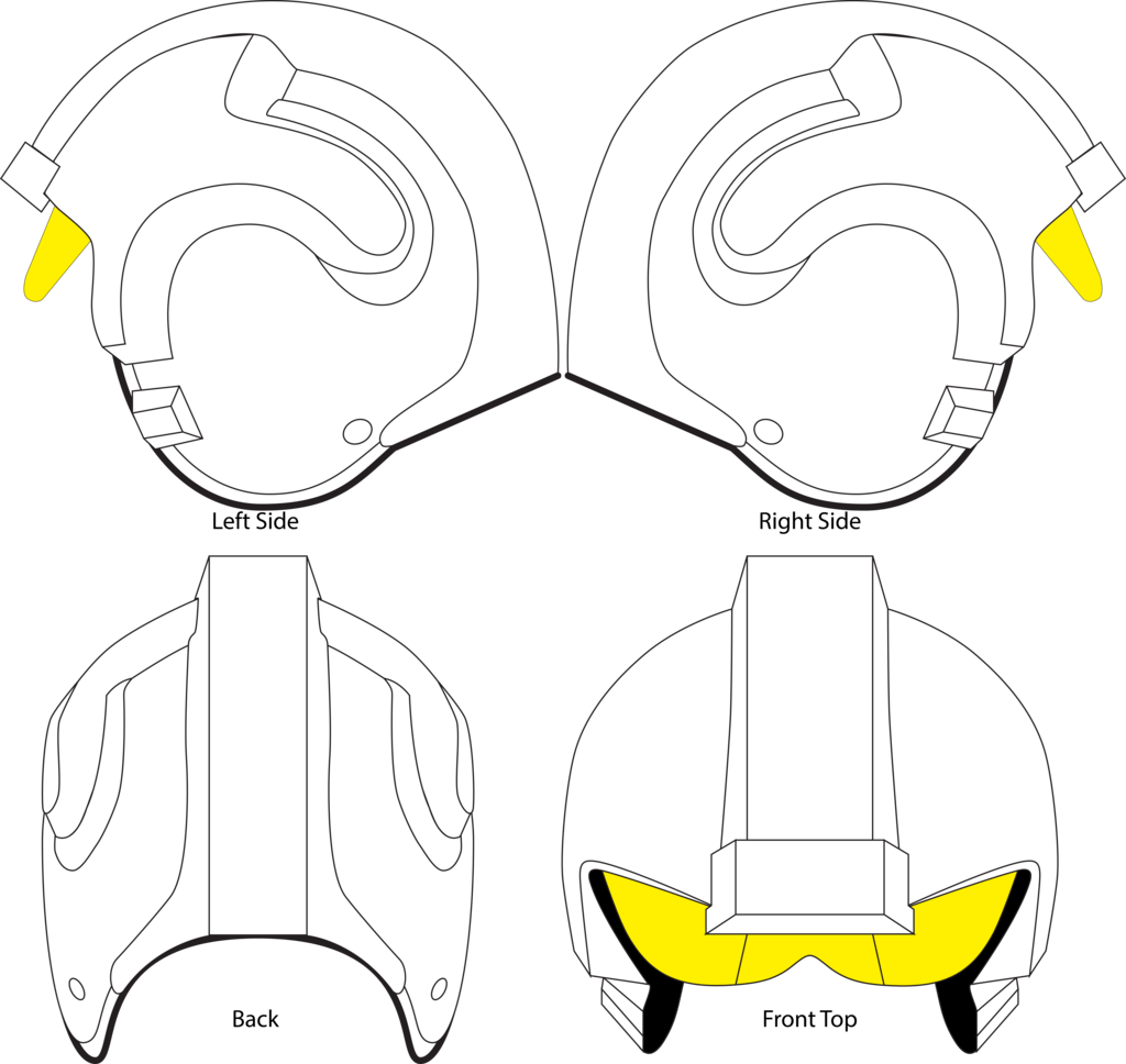 Image Result For X Wing Pilot Helmet Side View