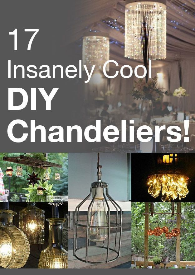 Insanely Cool DIY Chandeliers Idea Box By Darleen L