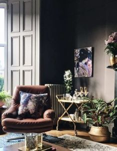 Farrow  ball london clay beautiful rooms mad about the house also bet you didn  think could get this interiors look on rh pinterest