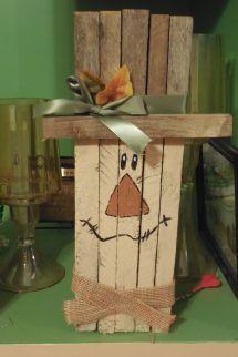 Snowman Christmas Crafts Tobacco Sticks