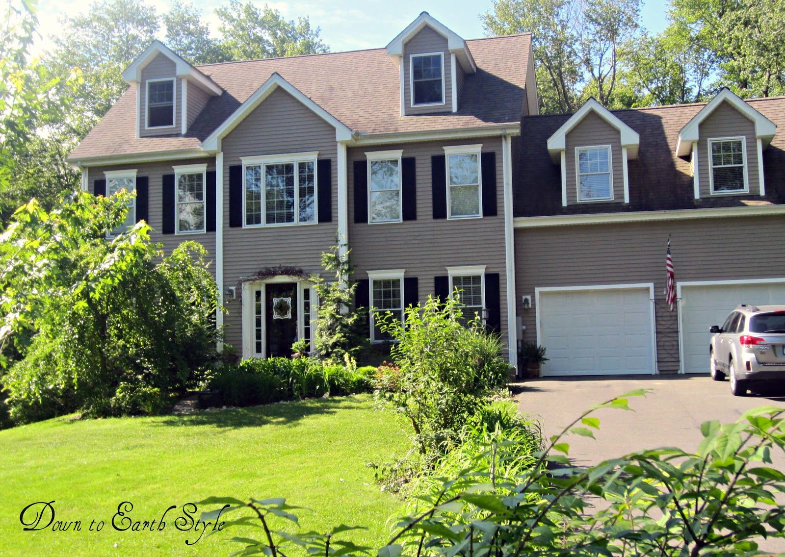 Paint Colors For House Exterior Gray Brown For Main Color
