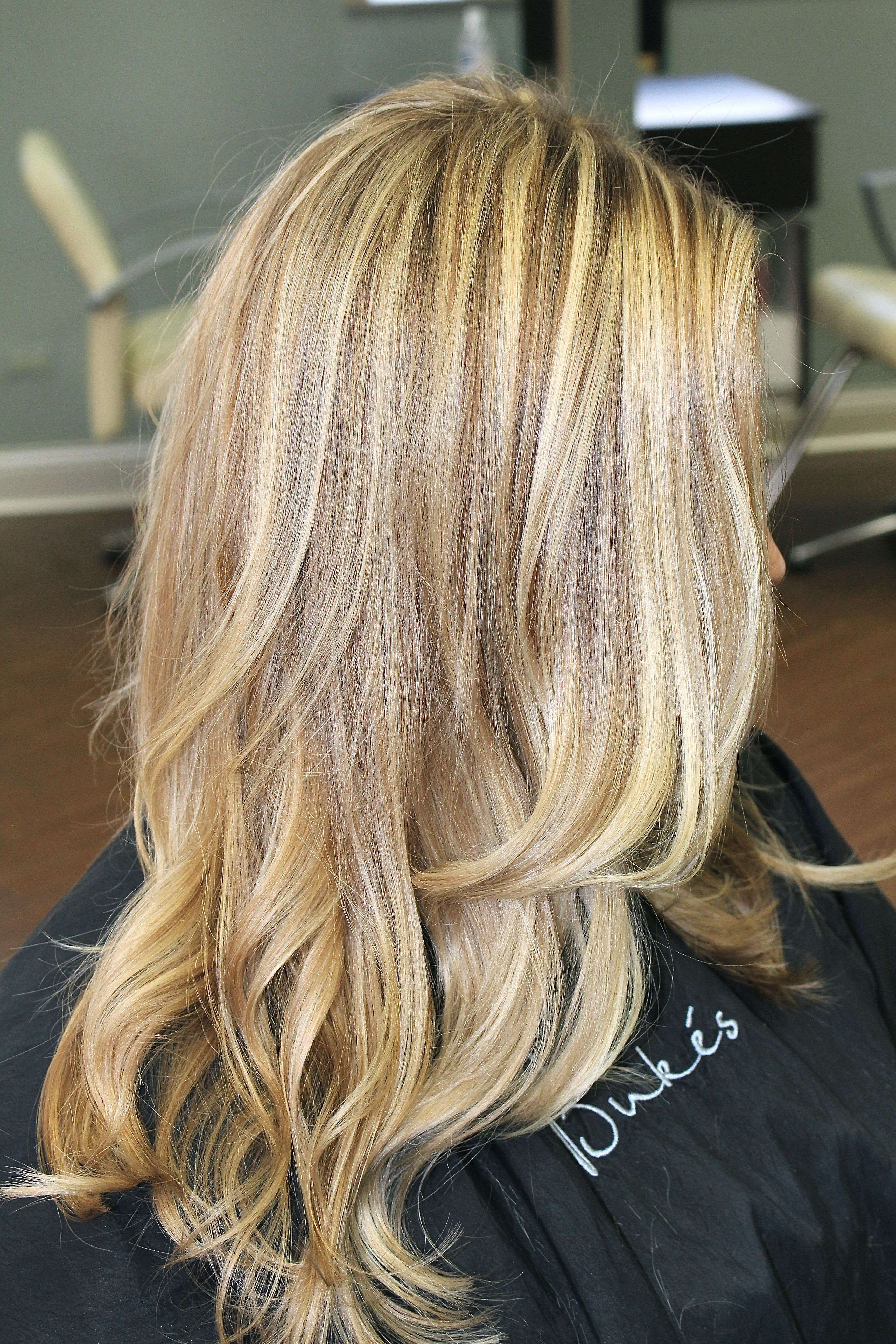 Golden Blonde Highlights on Jenny  Fashion  Pinterest  Golden blonde highlights Golden