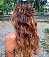 Half Up Half Down Prom Hairstyles Hairstyle