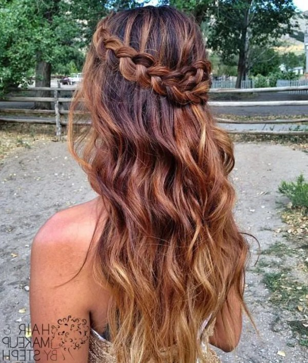 30 Half Up Half Down Homecoming Hairstyles Hairstyles Ideas