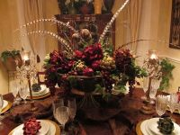 dining table arrangements - Norton Safe Search | Christmas ...