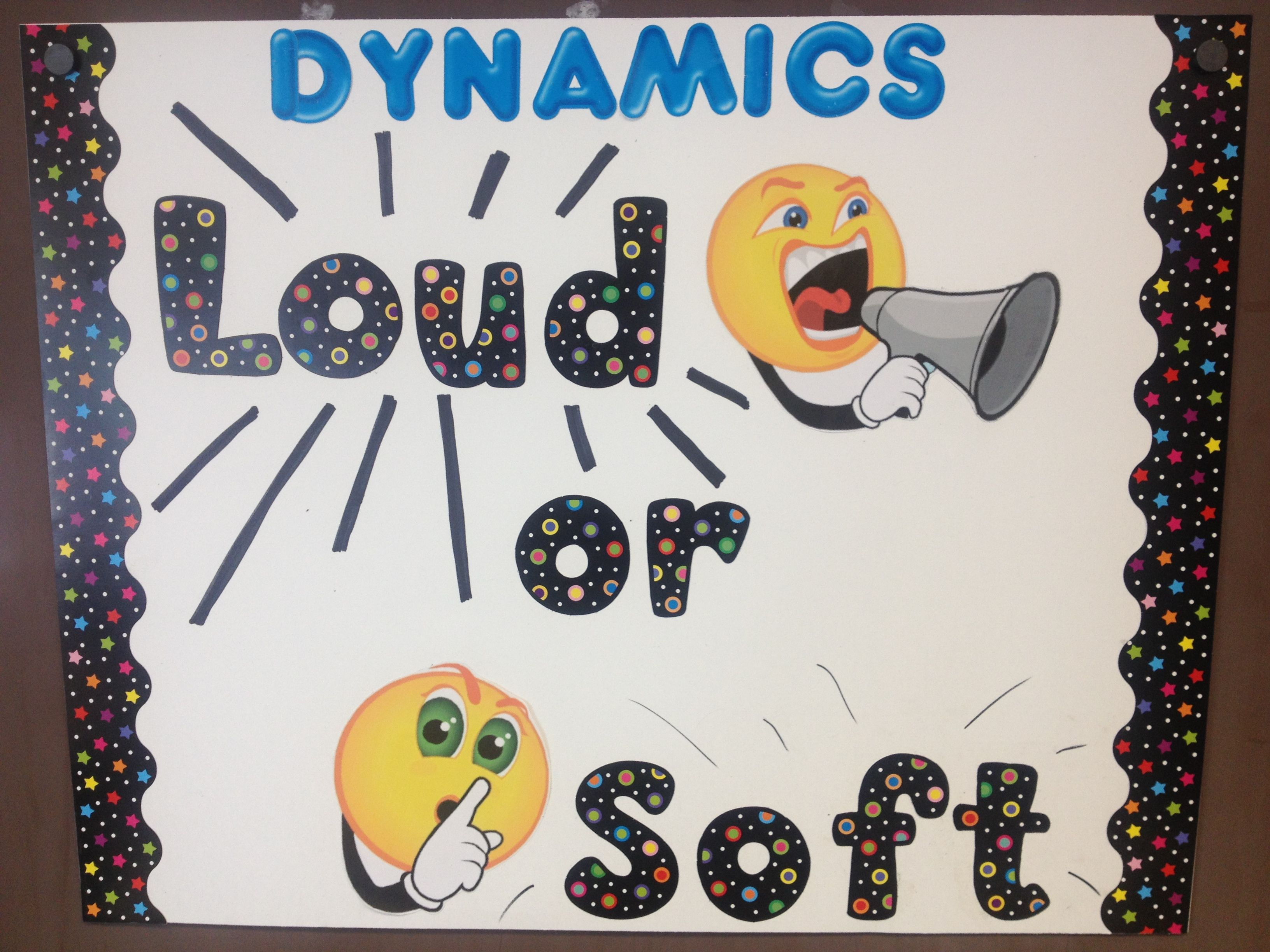 Dynamics Music Can Be Loud Or Soft Elementary Music Class