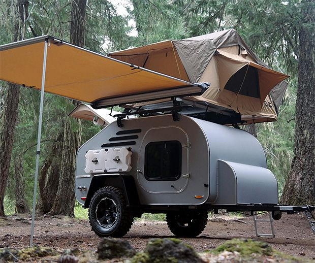 rugged camper trailer  Home Decor