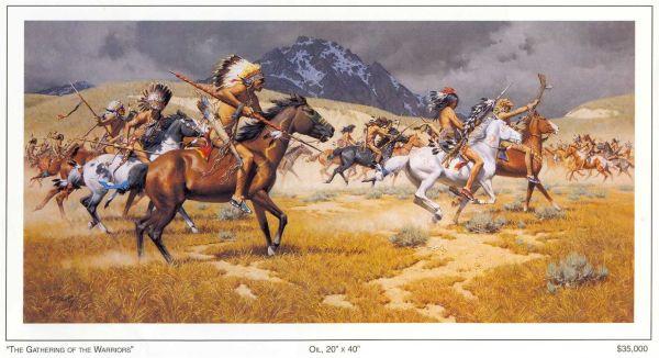 Frank McCarthy Western Art