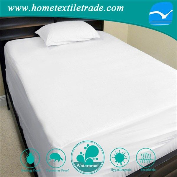 Bulk Knitted Waterproof Mattress Protector With Zipper Twin Xl Bed For Hotel And Home In Virginia