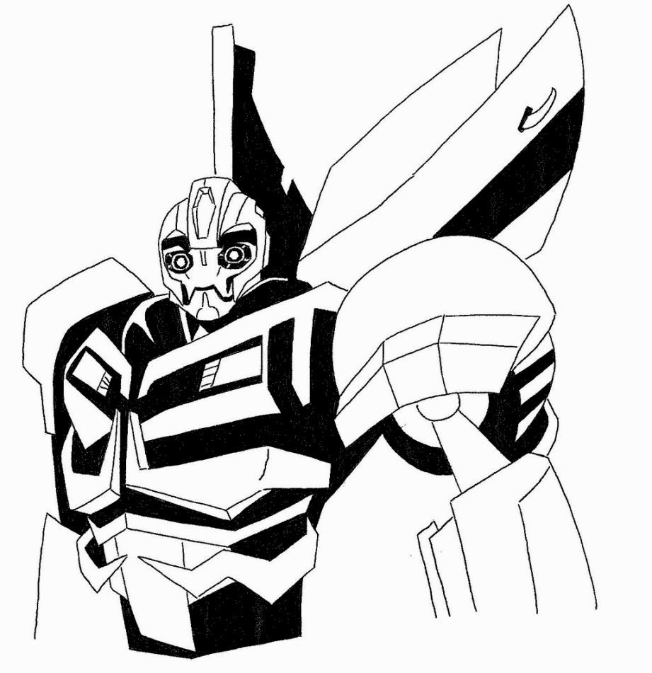 Bumblebee Transformer Coloring Pages Coloring Pages
