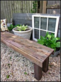 Pallet Garden Benches Shed
