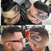 hair tattoo design men's stylish