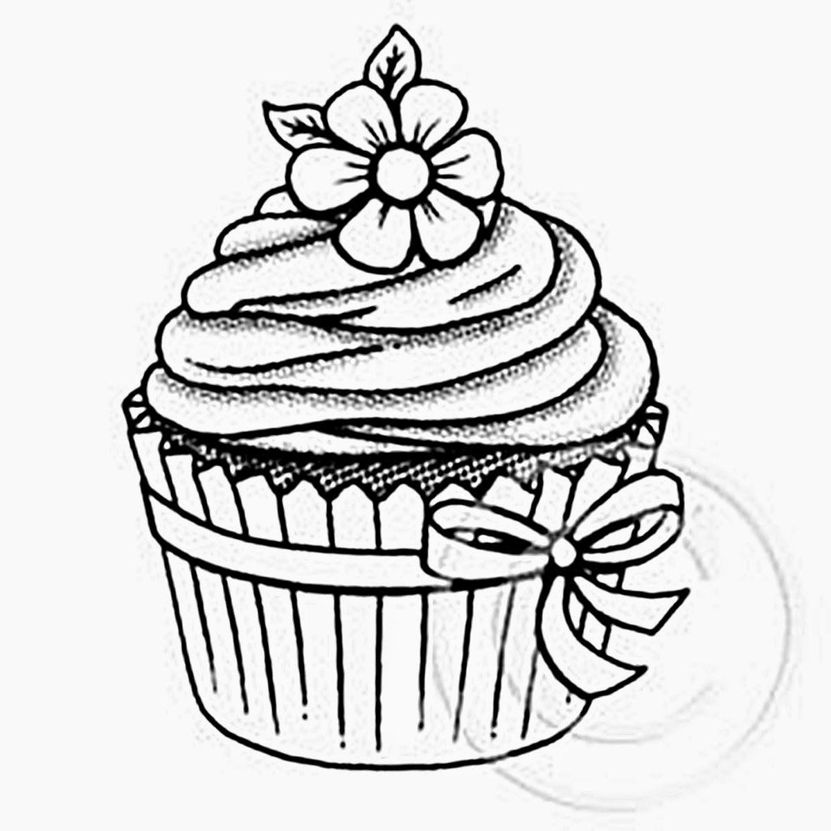 Riscos graciosos (Cute Drawings): Cupcakes, sorvetes e
